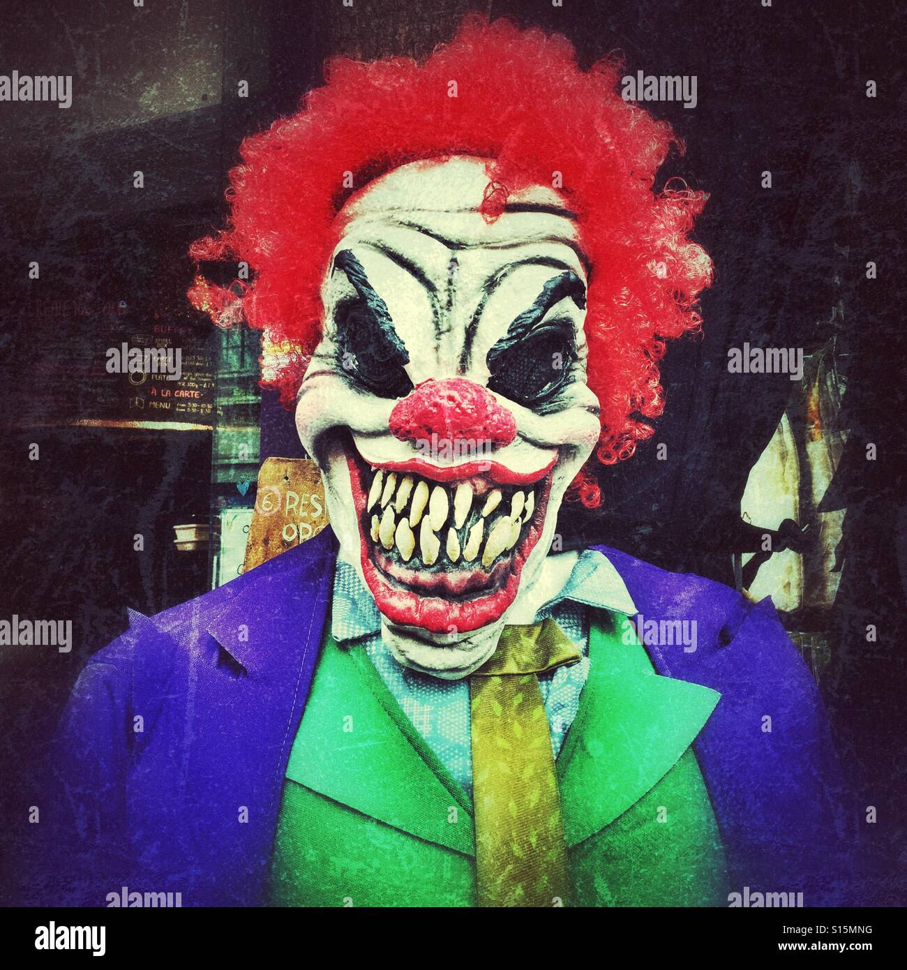 scary clown stock photos scary clown stock images alamy