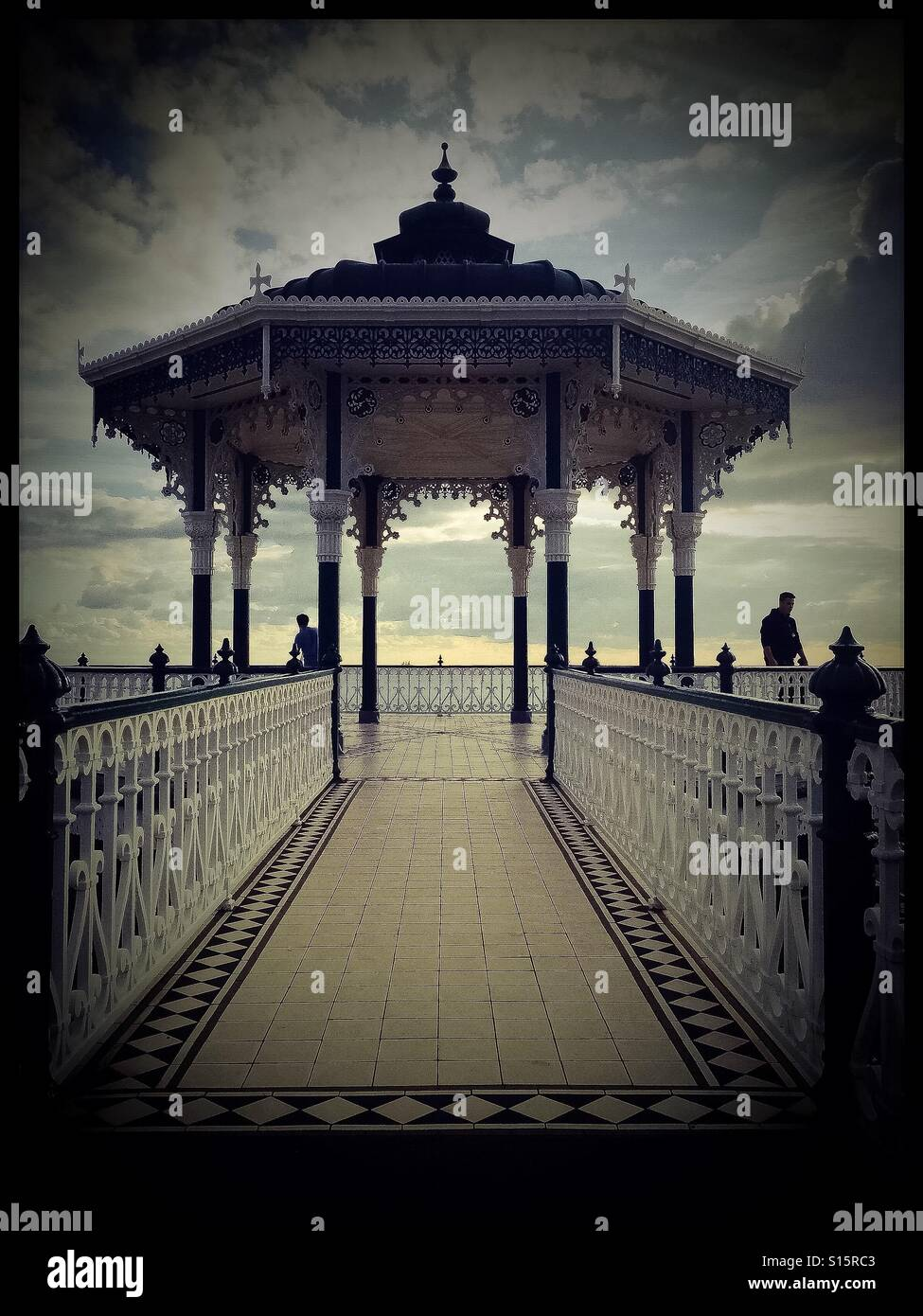 The Bandstand, Brighton - Stock Image