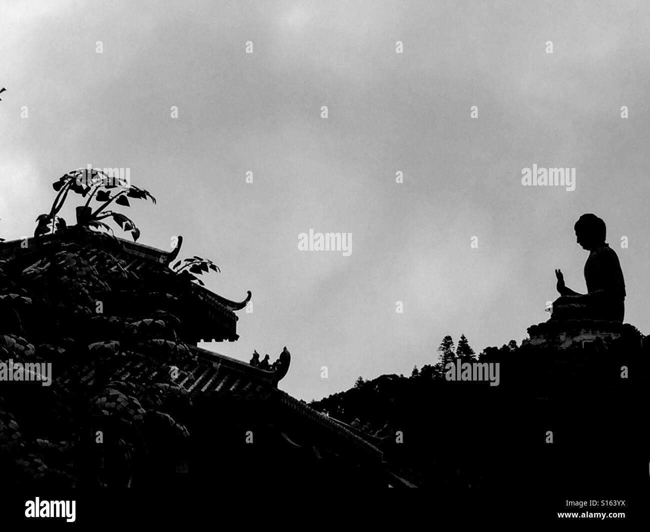 The big Buddha - Stock Image