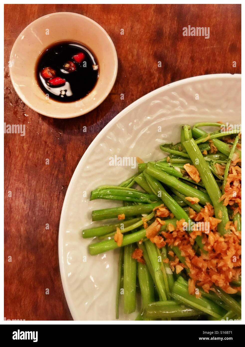 Vietnamese food in Ho Chi Minh City - Stock Image