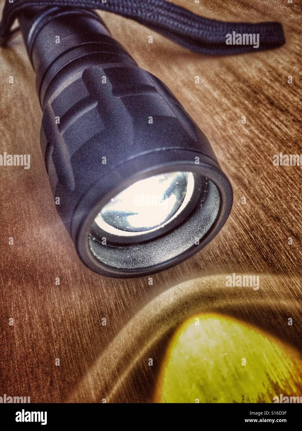 Electric torch - Stock Image