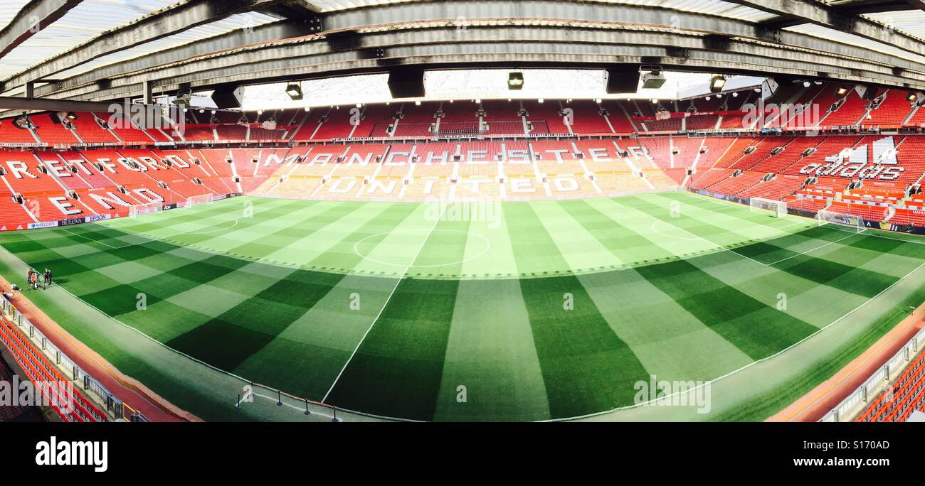 Old Trafford, Manchester United Football Club - Stock Image