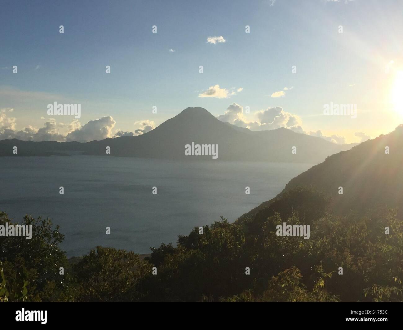 Lake Aititlan - Stock Image