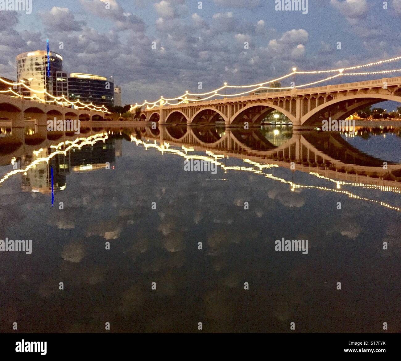 Tempe from the north shore - Stock Image
