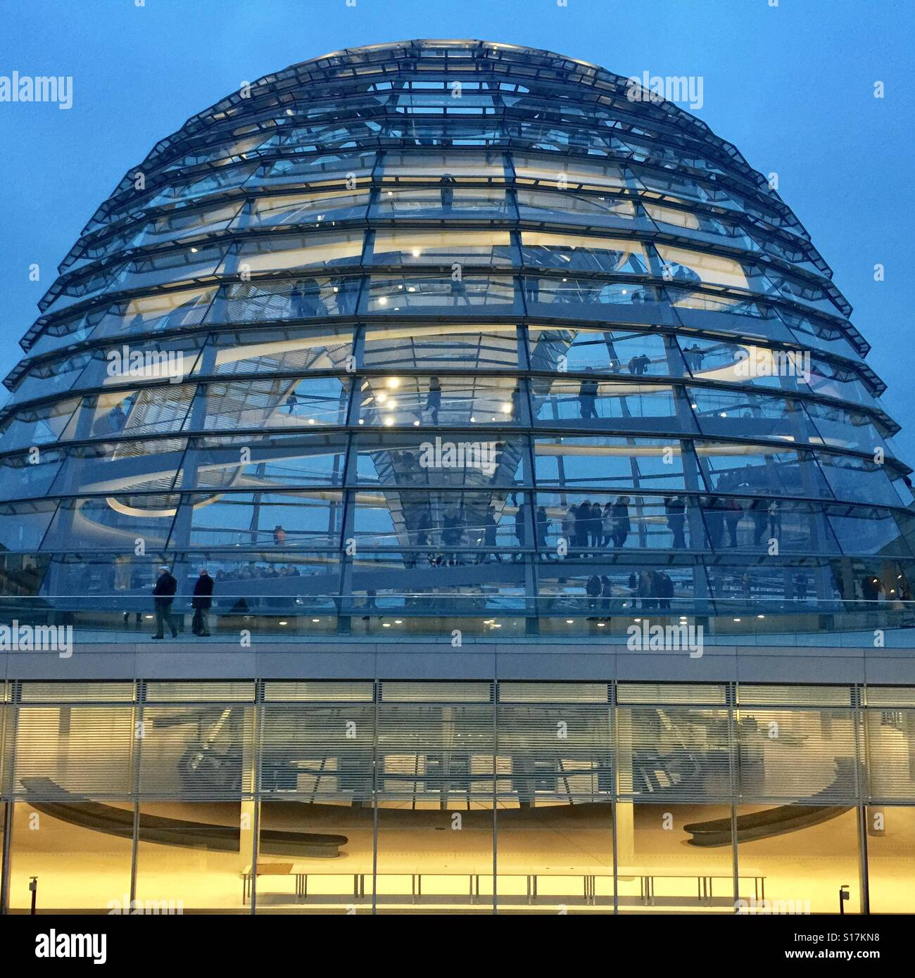 The Bundestag,Berlin,Germany - Stock Image