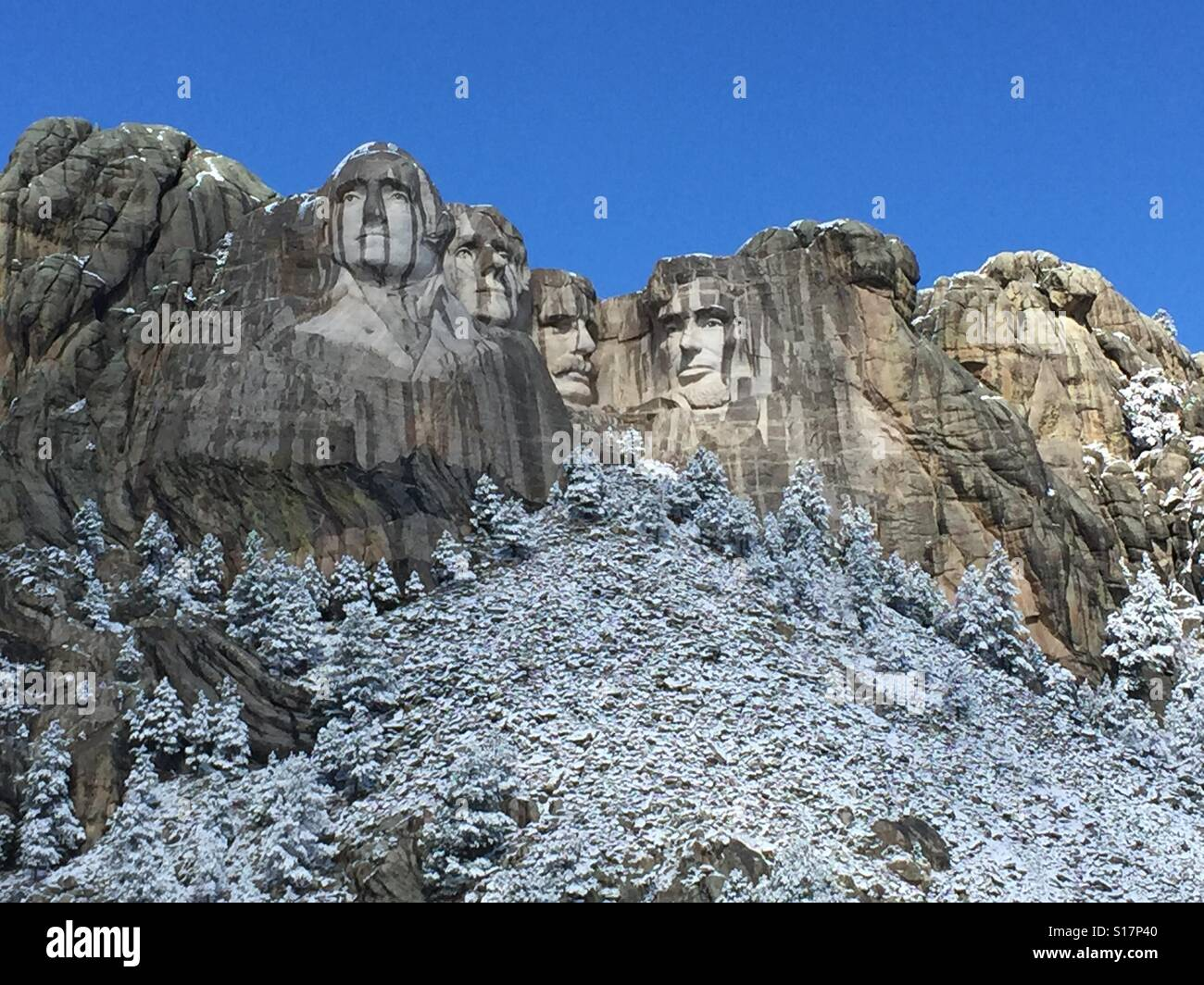 Mount Rushmore, South Dakota, Black Hills Stock Photo