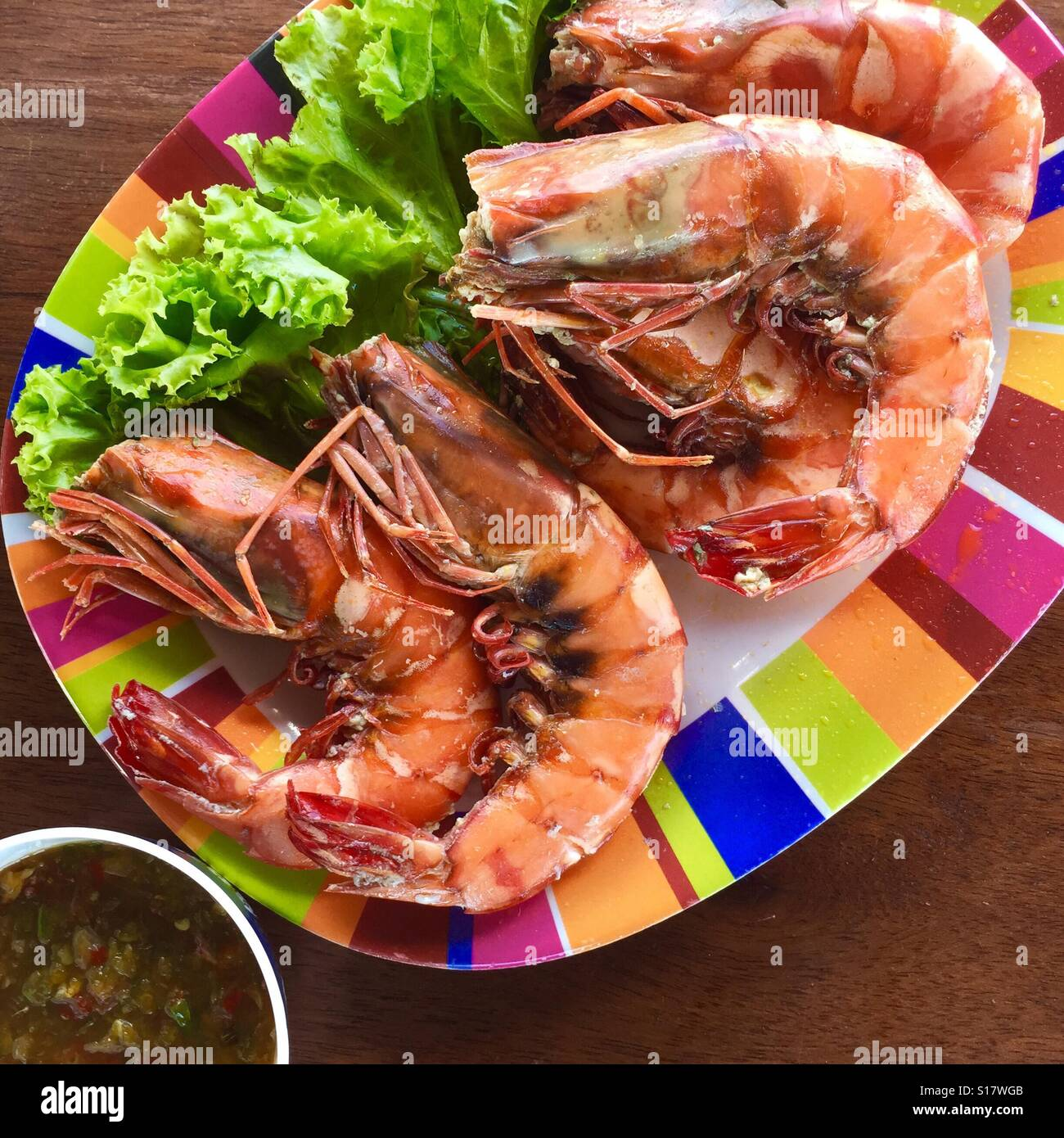 spicy seafood chili sauce Stock Photo ...