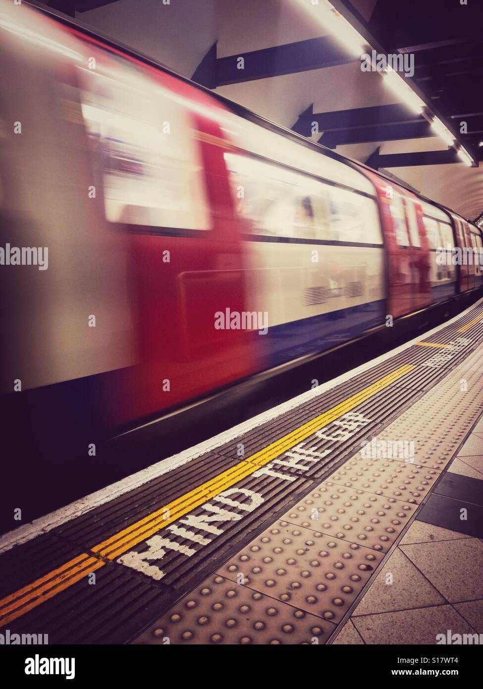 London Underground train - Stock Image