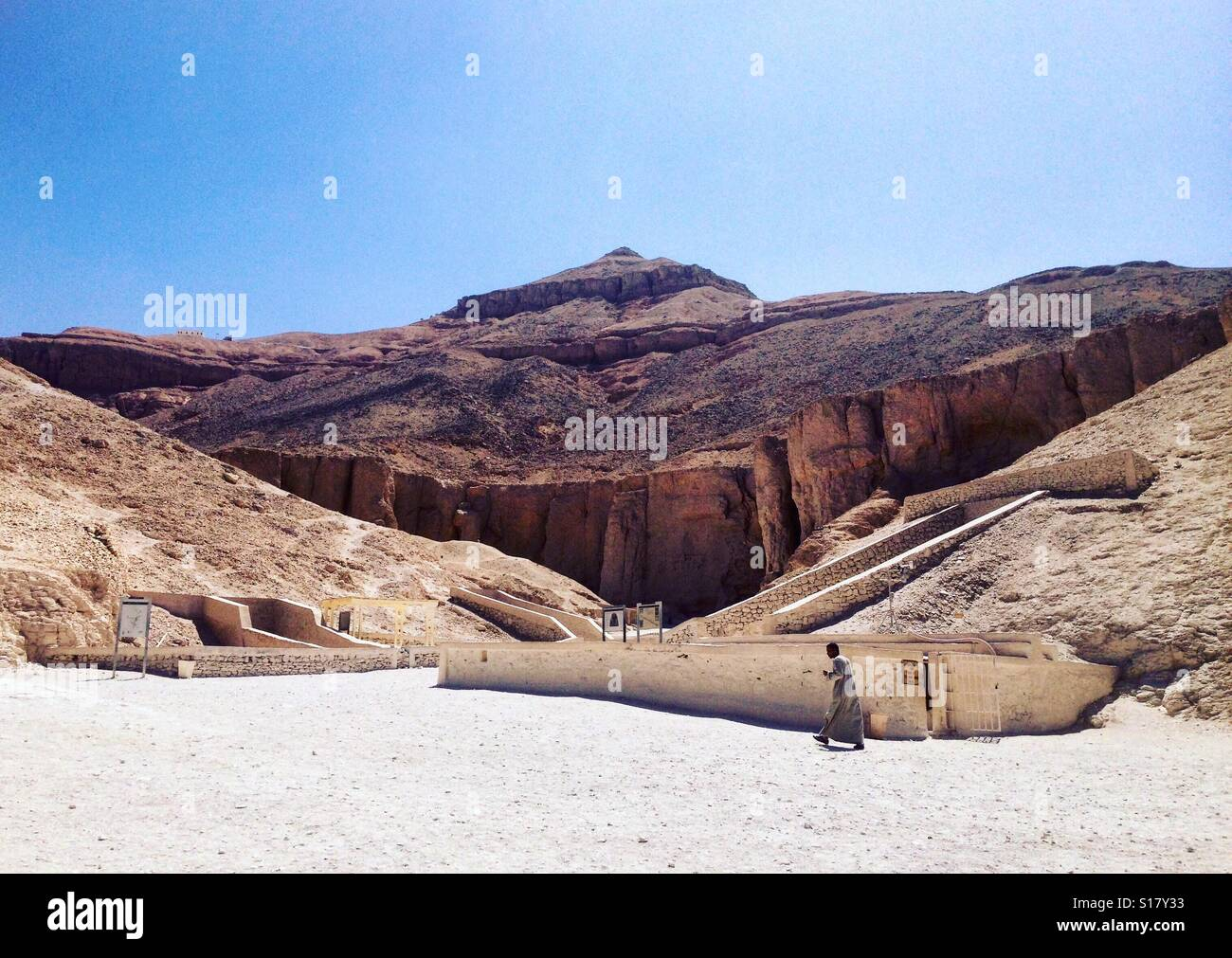 Valley of the kings, Luxor, Egypt - Stock Image