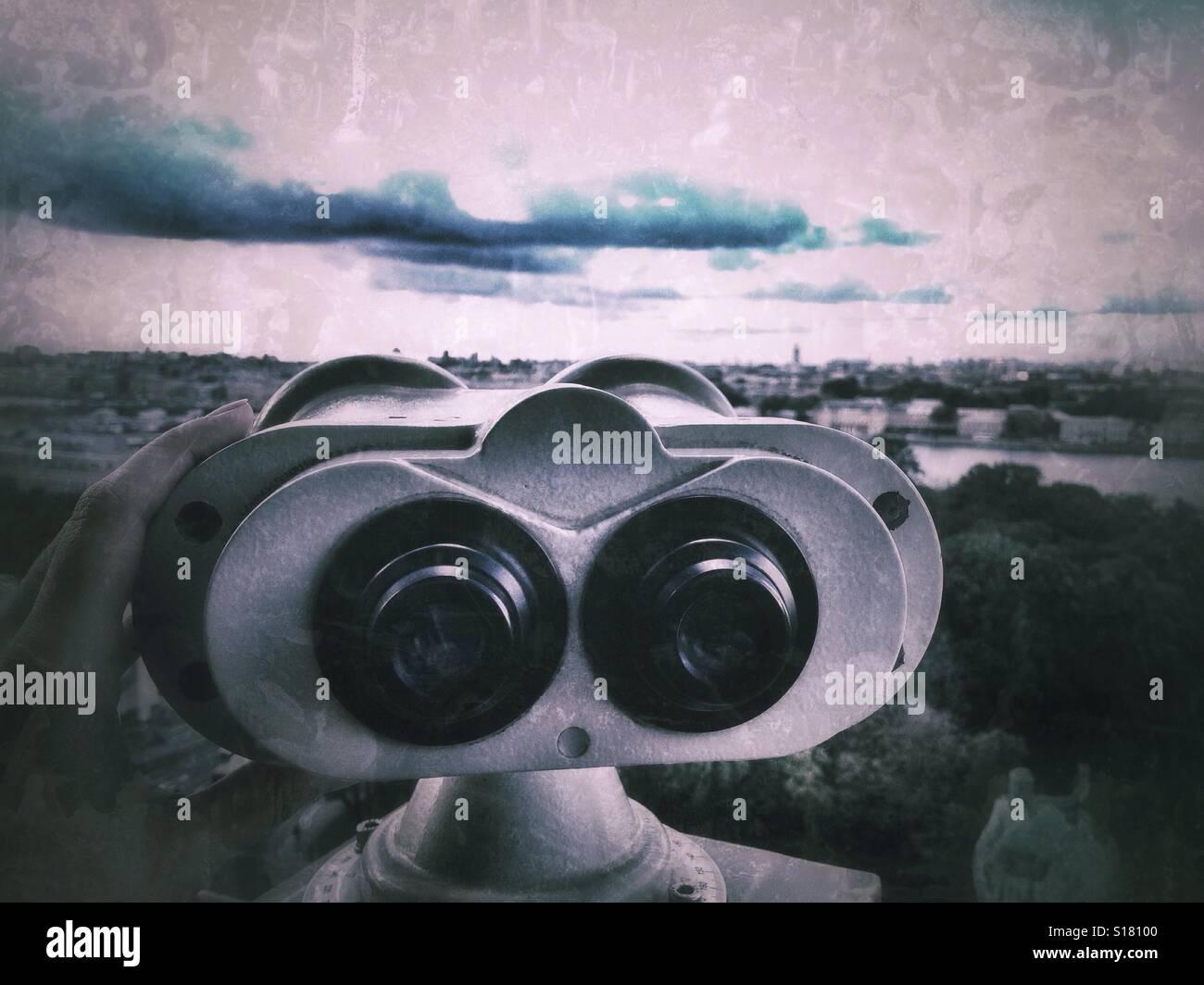 Binocular - Stock Image