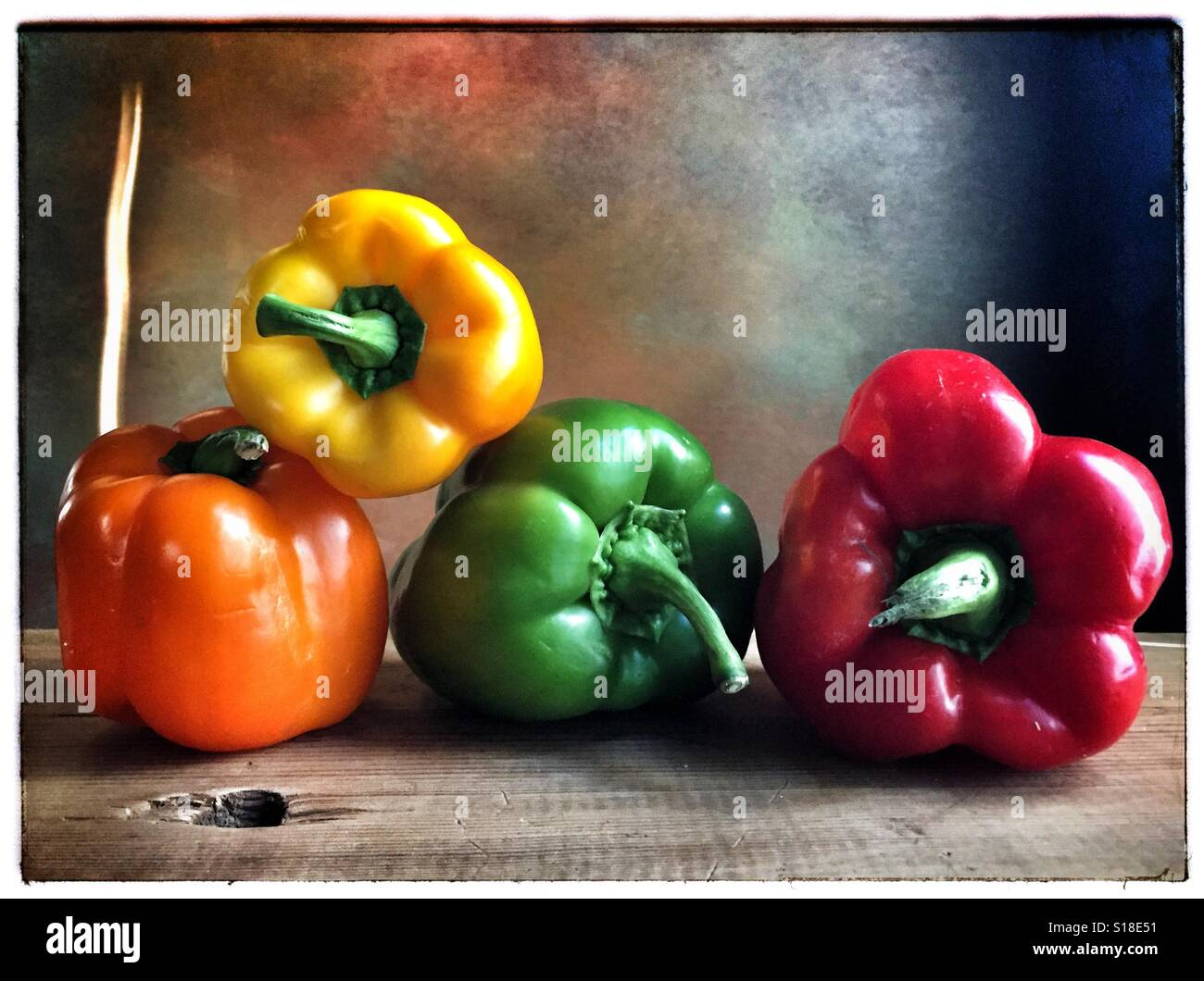 Peppers - Stock Image