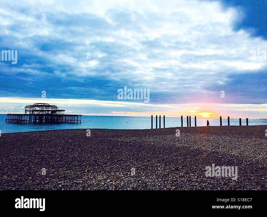 Brighton 🌊 Stock Photo