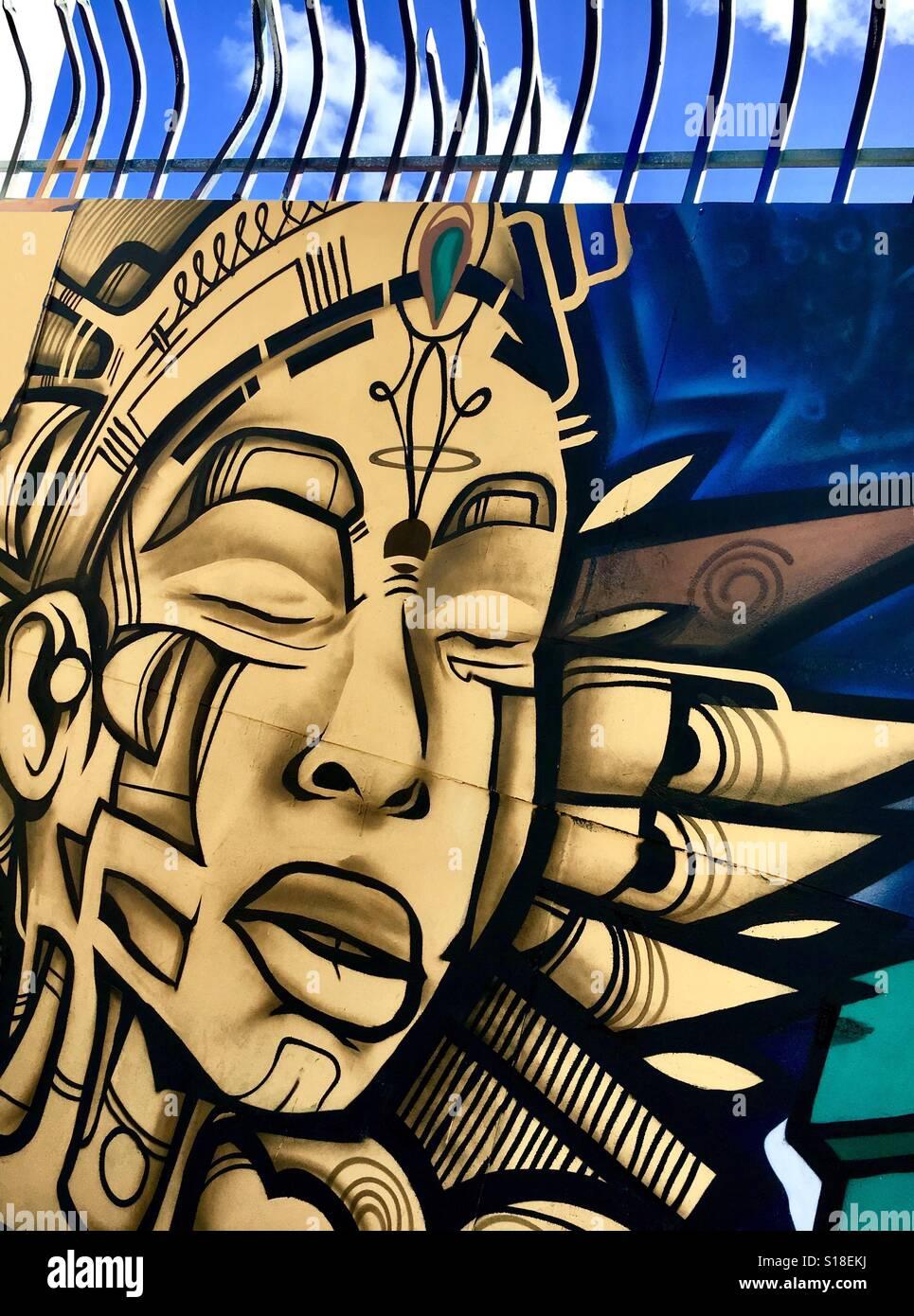 Miami Street Art Wynwood Stock Photos & Miami Street Art Wynwood ...