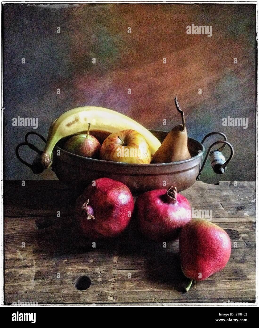Fruit StillLife - Stock Image