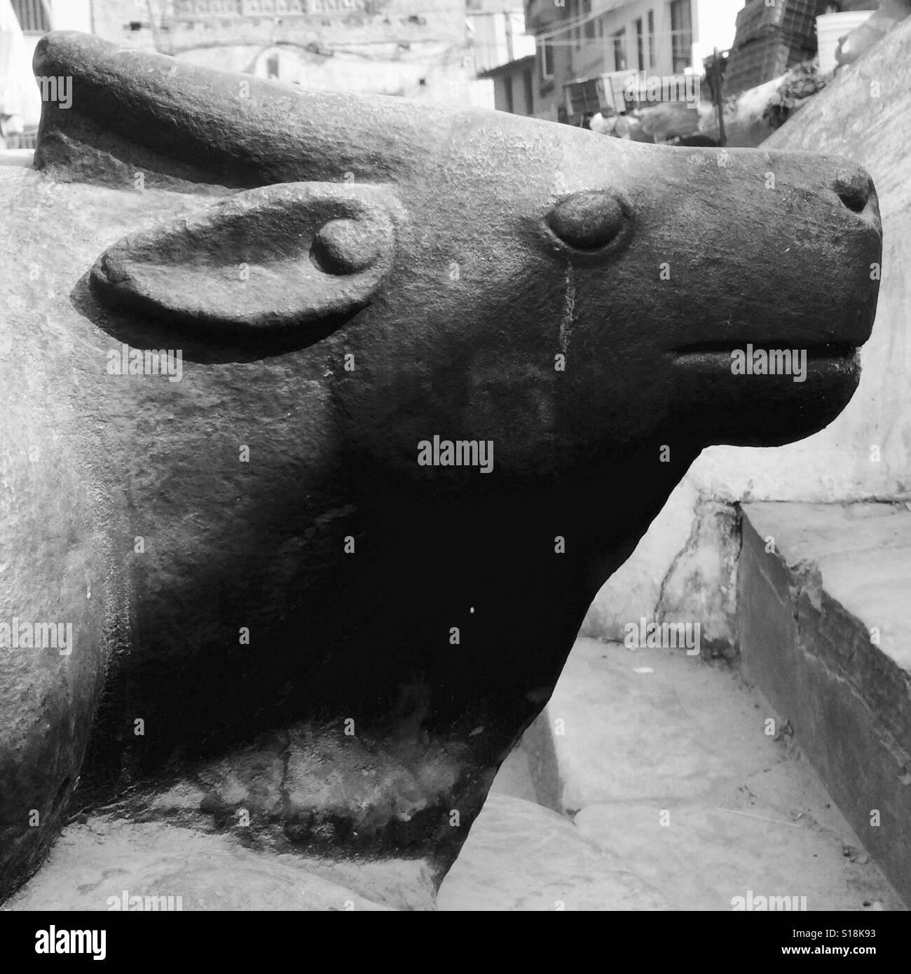 Nandi, mount of Siva - Stock Image