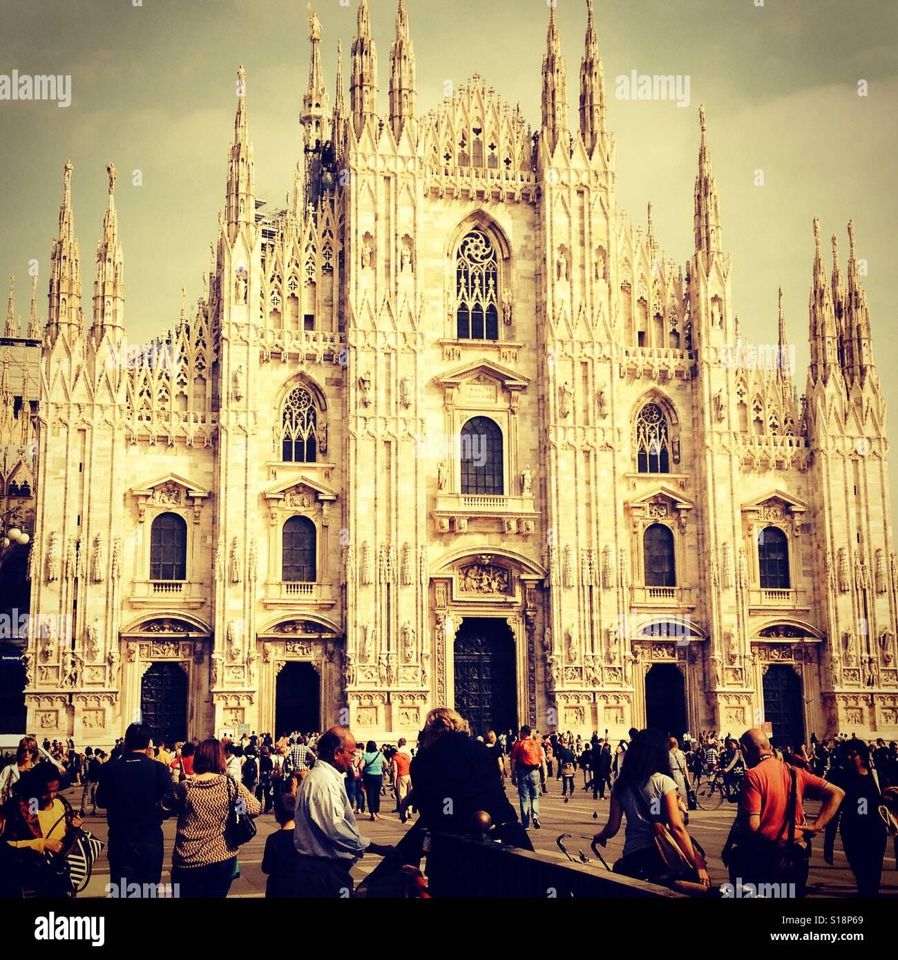 Milan weekend break #MustSee - Stock Image
