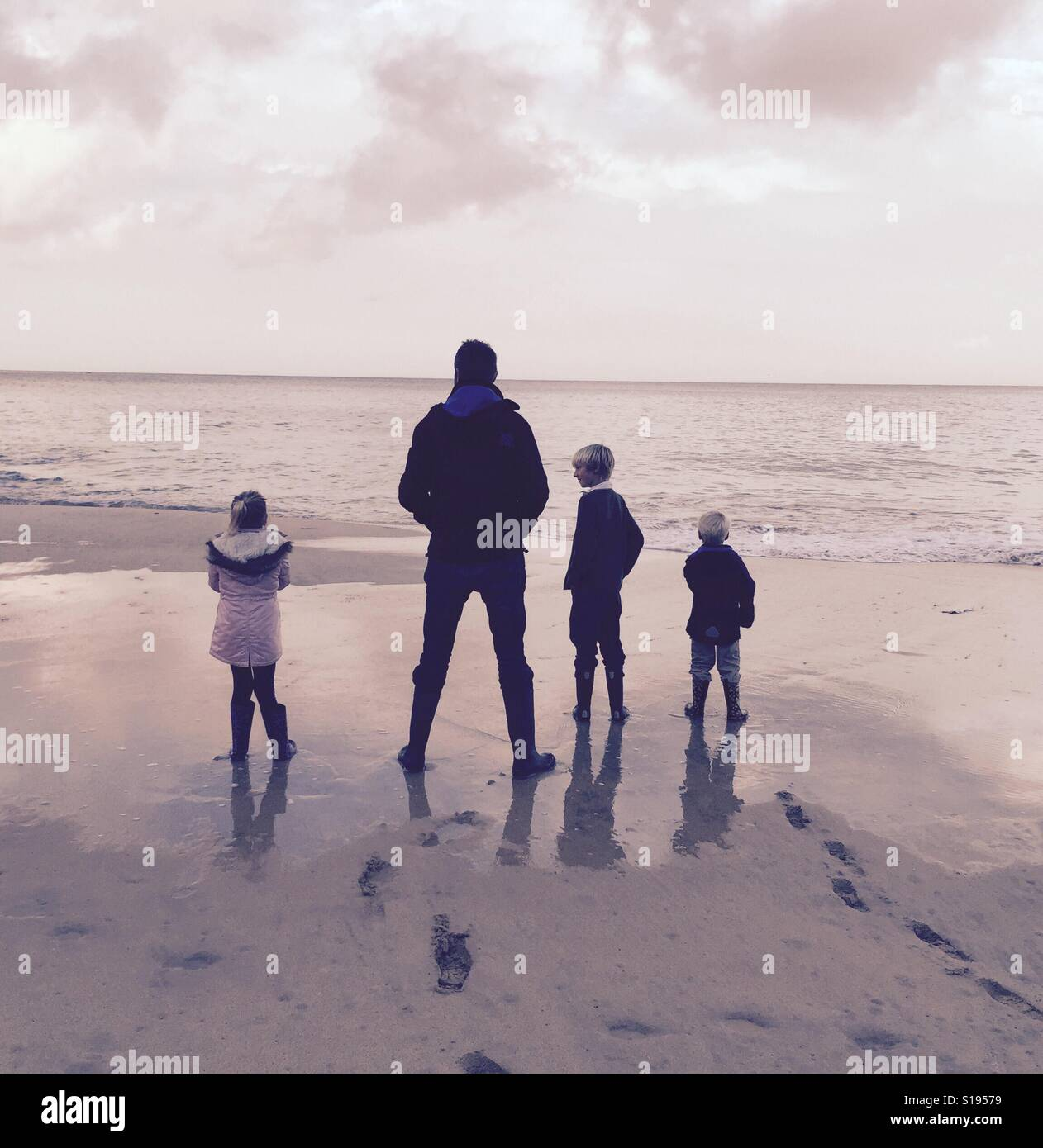 Family time - Stock Image