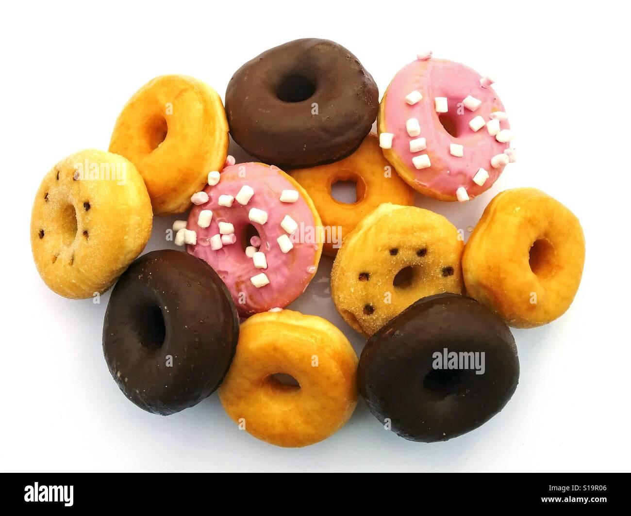 Varied donuts. - Stock Image
