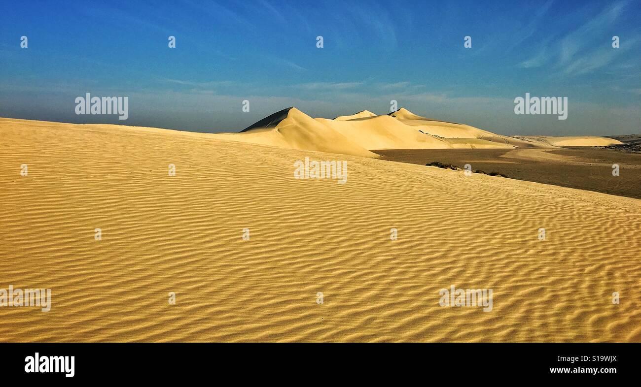 Sand dunes - Stock Image