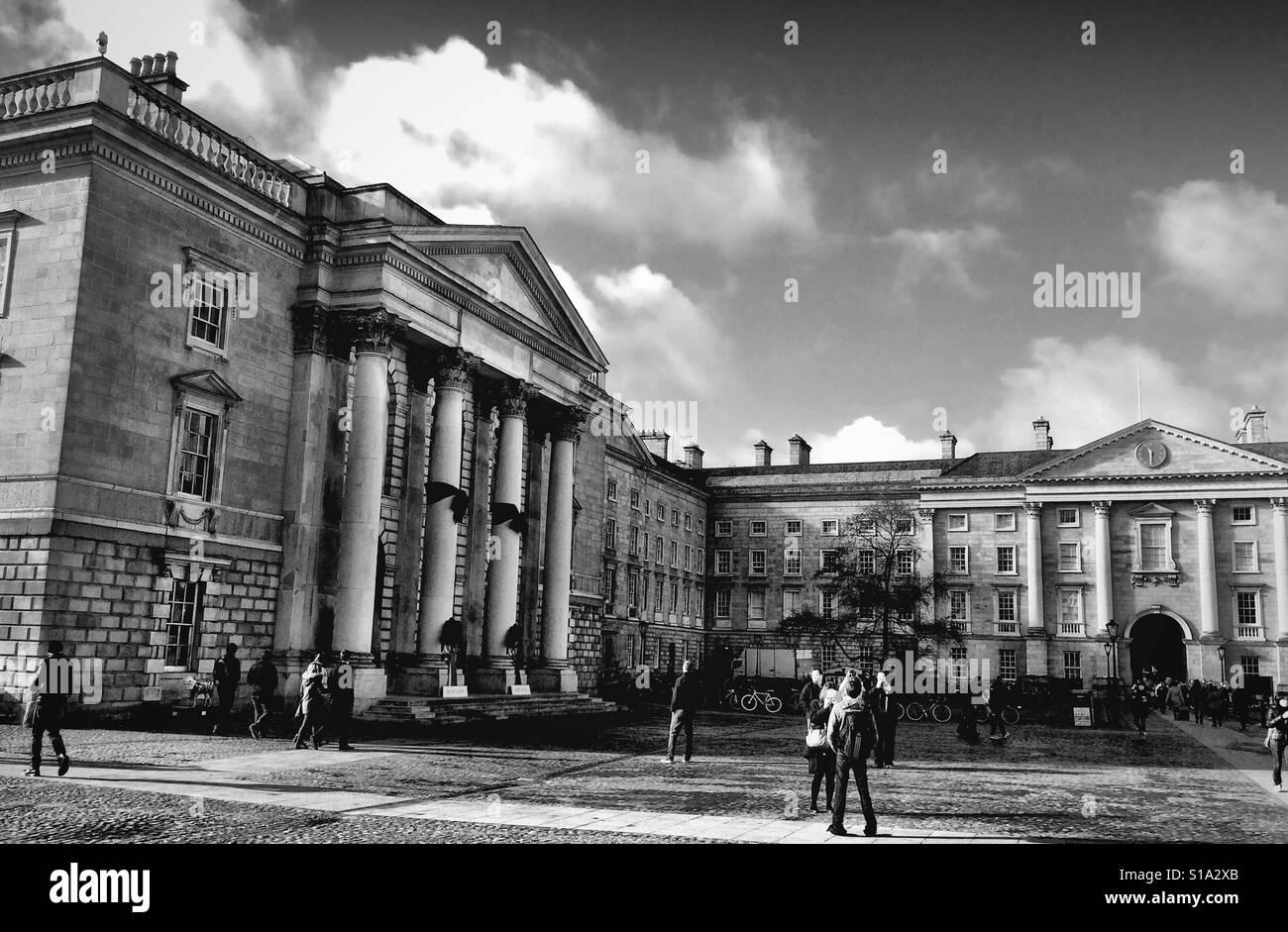 Trinity College Dublin - Stock Image
