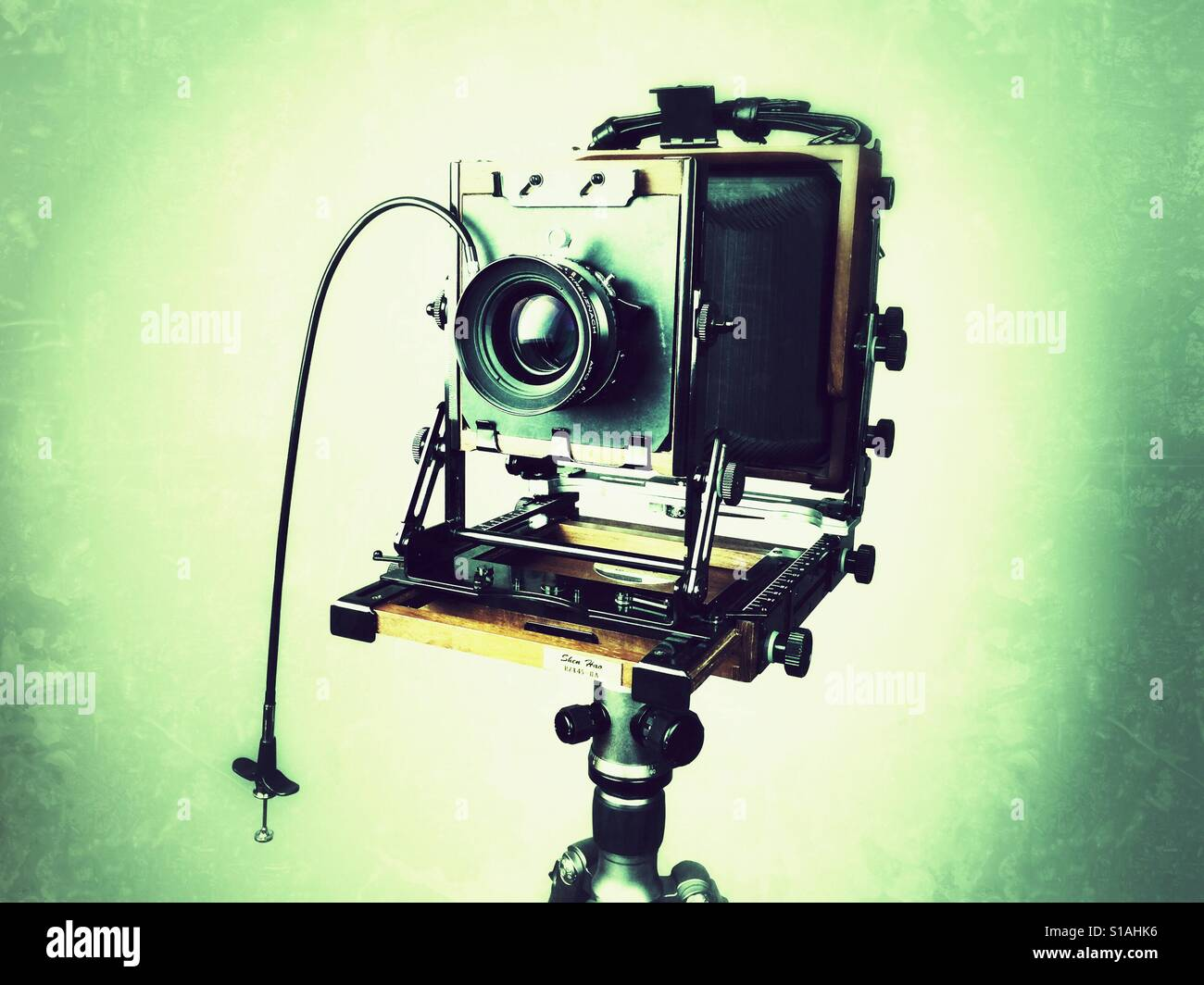 Modern large format film camera - Stock Image