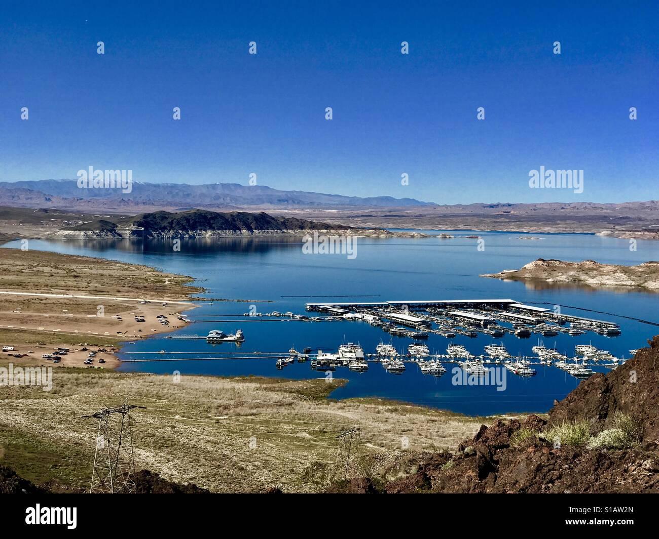 Lake mead Stock Photo