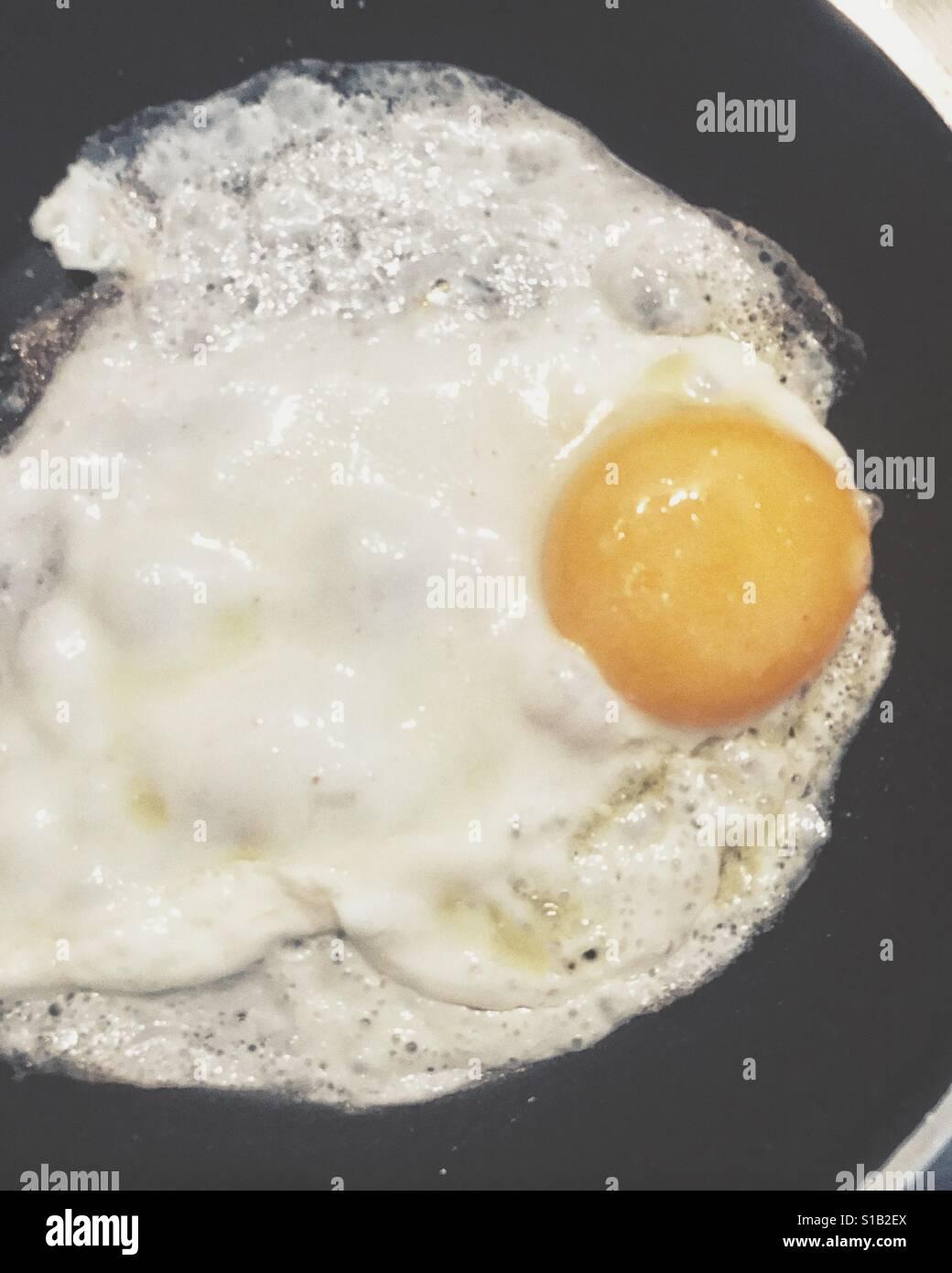 Fried egg - Stock Image