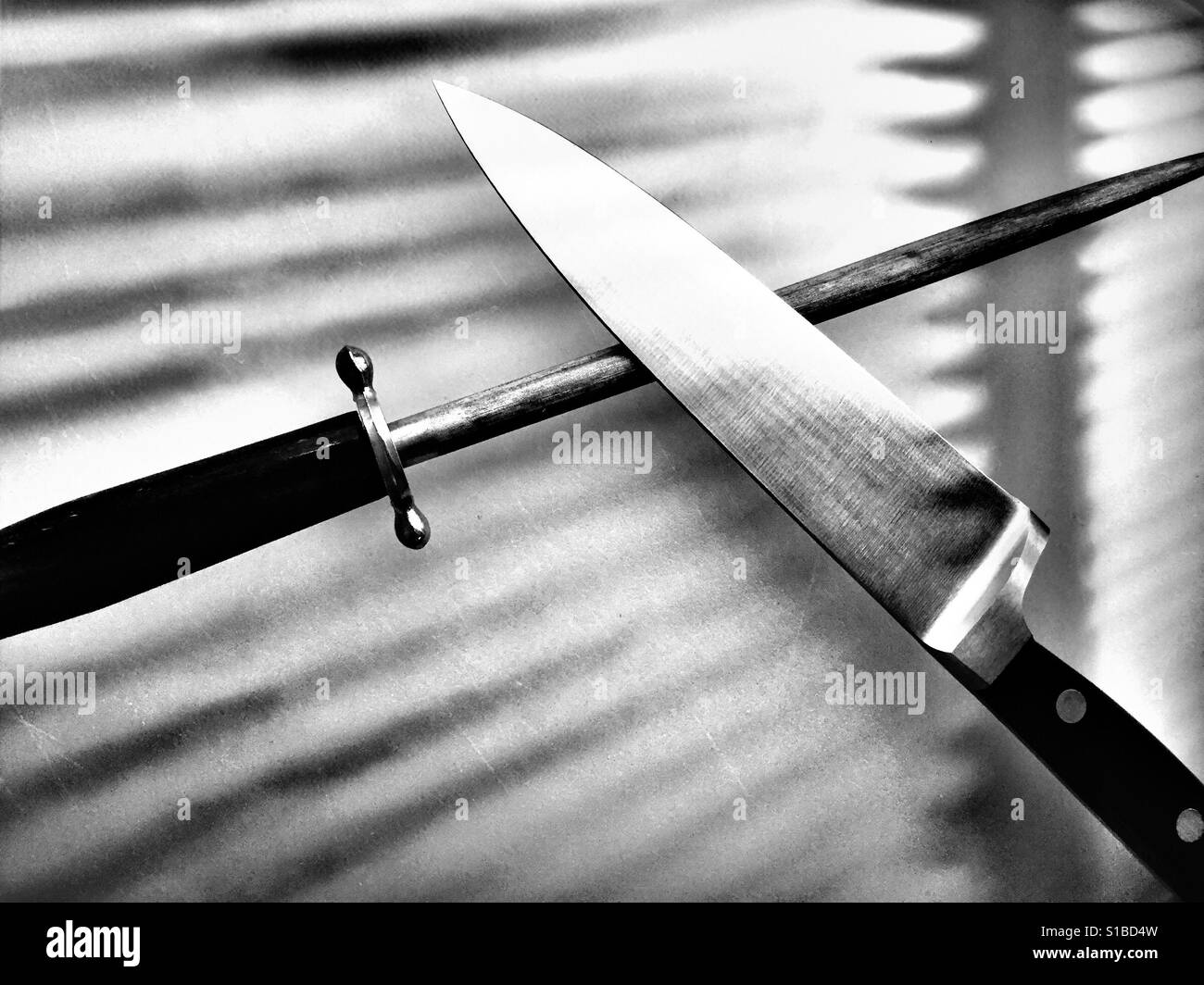 Sharpening Black and White Stock Photos & Images - Alamy