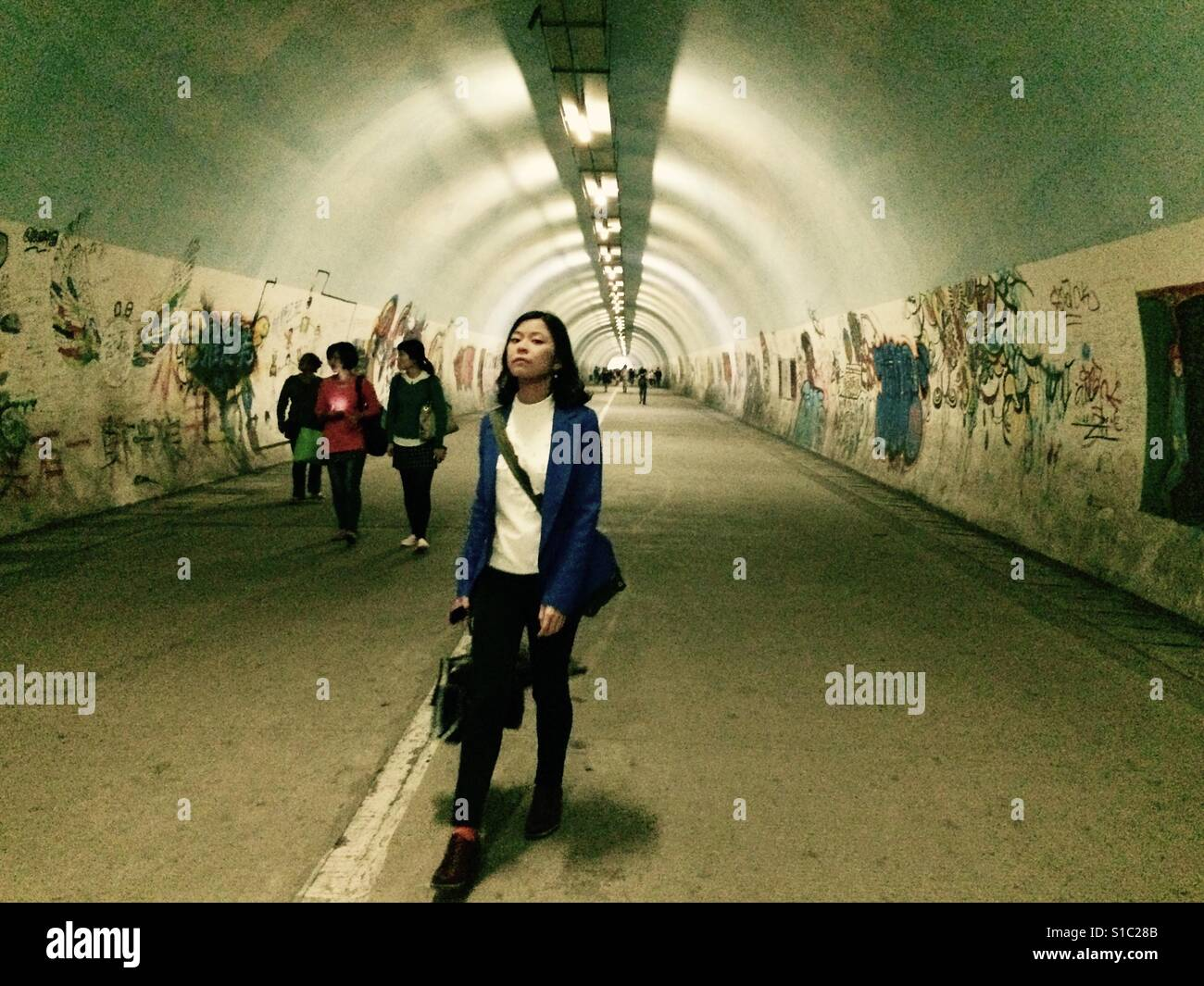 The tunnel, Amoy - Stock Image