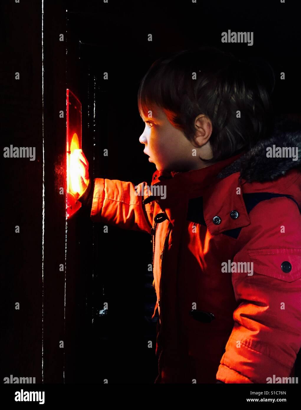 The light outside - Stock Image