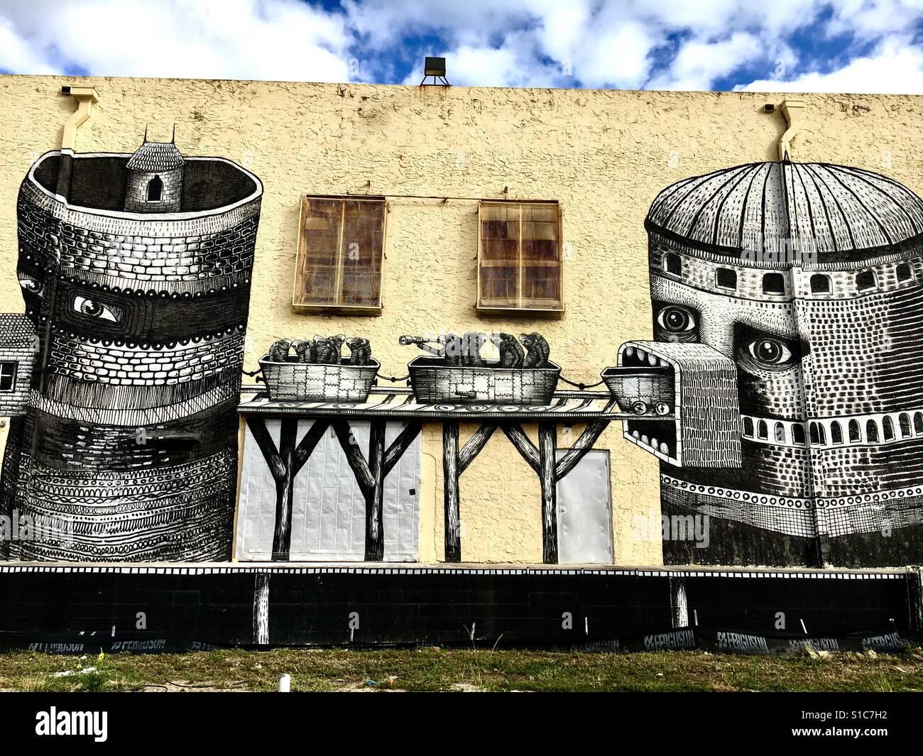 Wynwood mural Stock Photo: 310670670 - Alamy