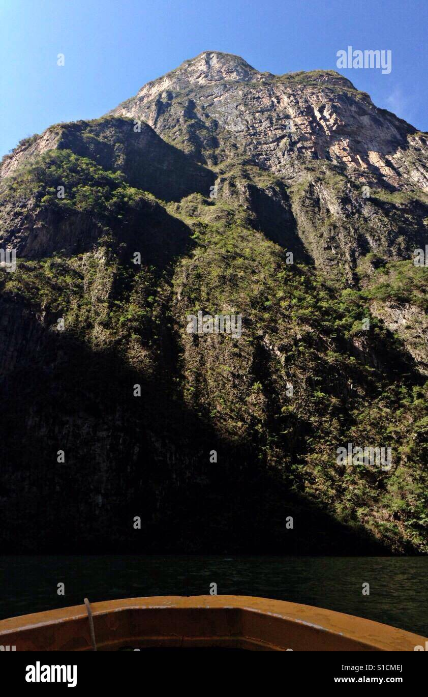 Sumidero canyon Wall - Stock Image