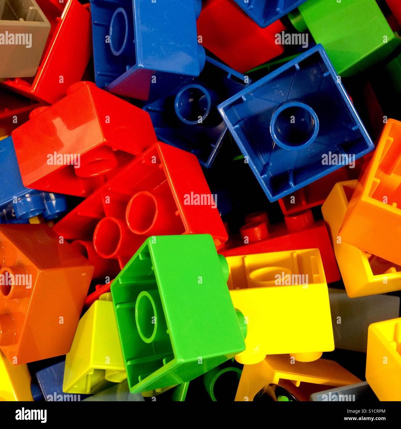 Lego blocks - Stock Image