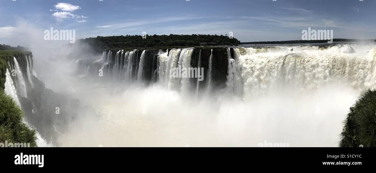 Iguazul falls, Argentina - Stock Image