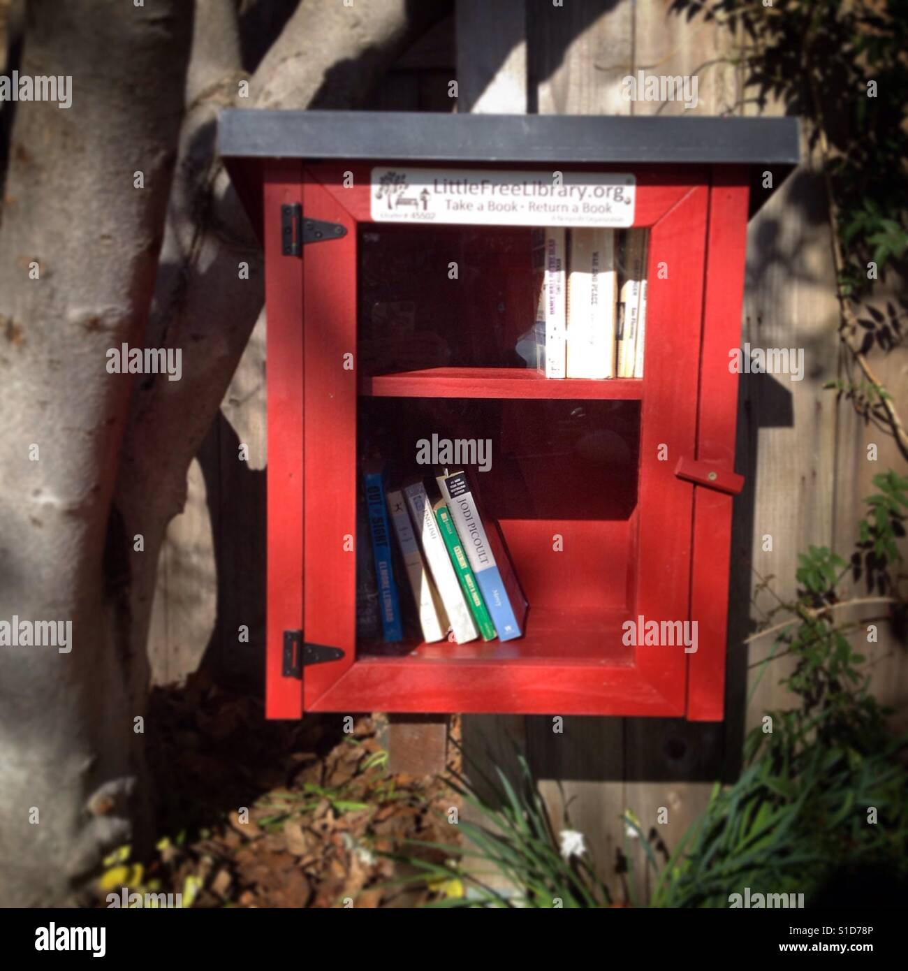 Free books / book exchange - Stock Image
