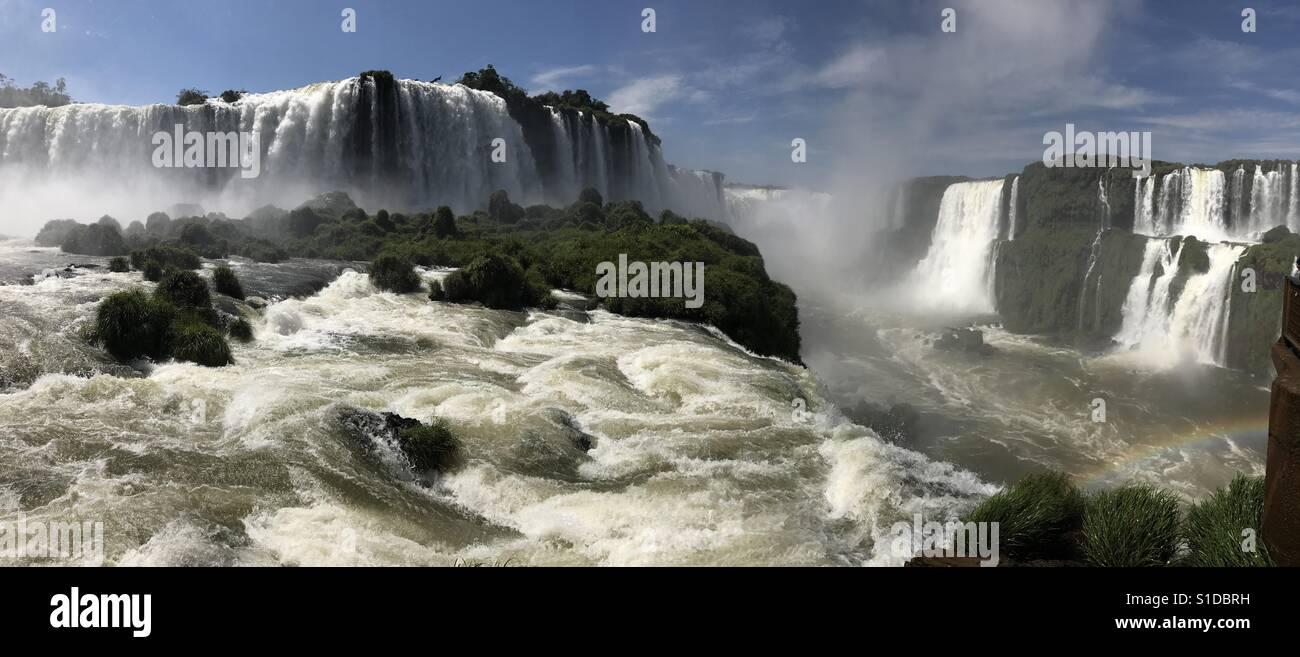 Iguazul Falls - Stock Image