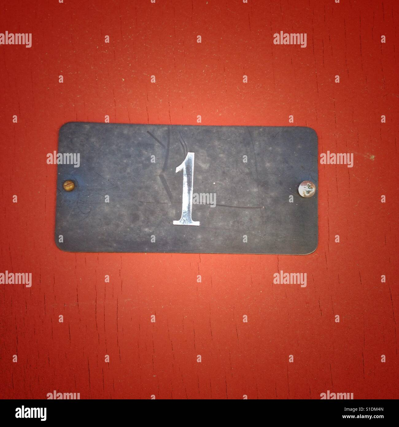 Number 1 - Stock Image