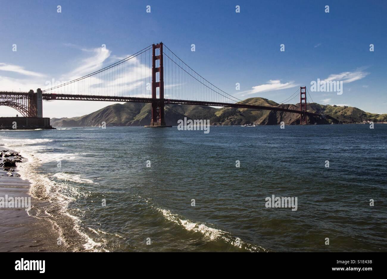 Golden Gate Bridge II - Stock Image