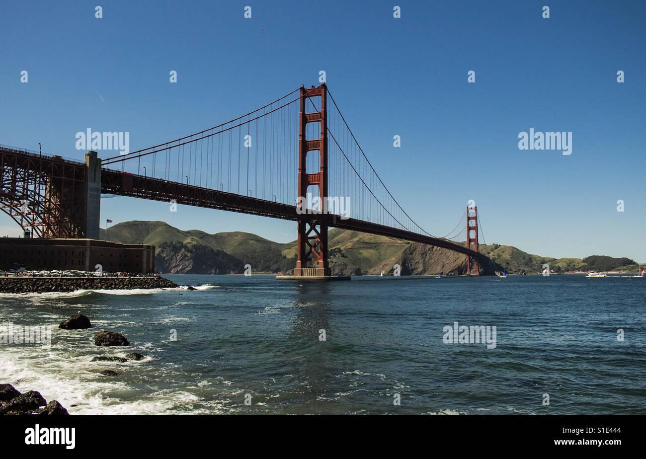 Golden Gate Bridge III - Stock Image