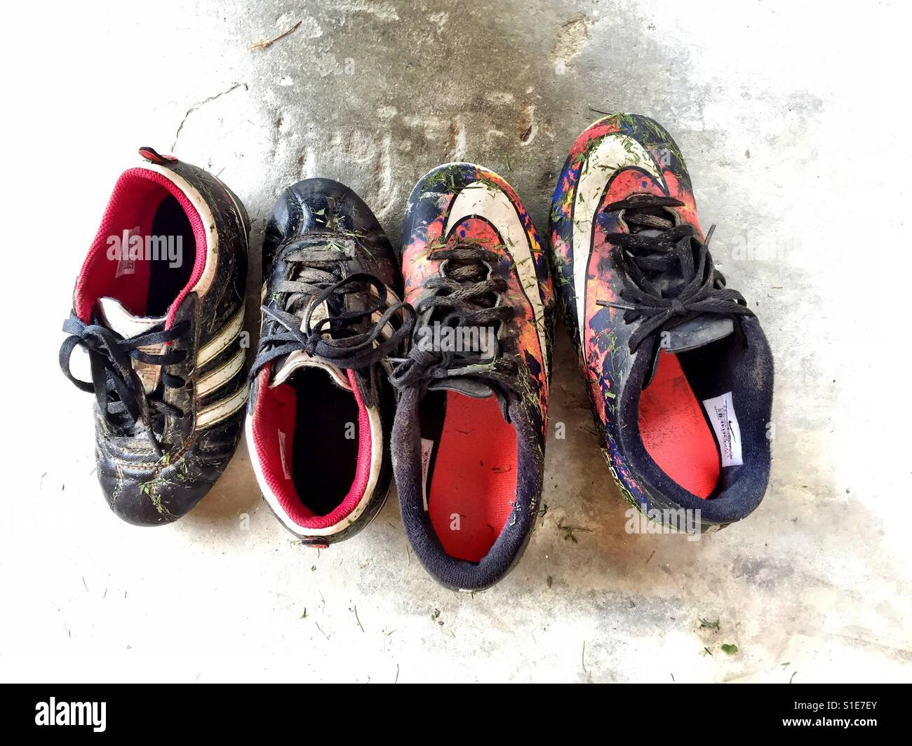 infant football boots size c8