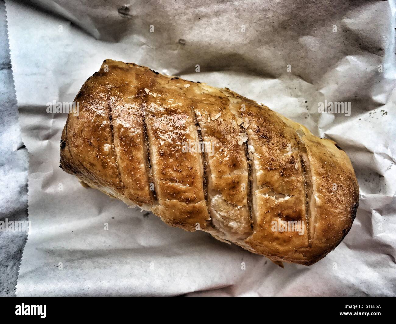Sausage Roll - Stock Image