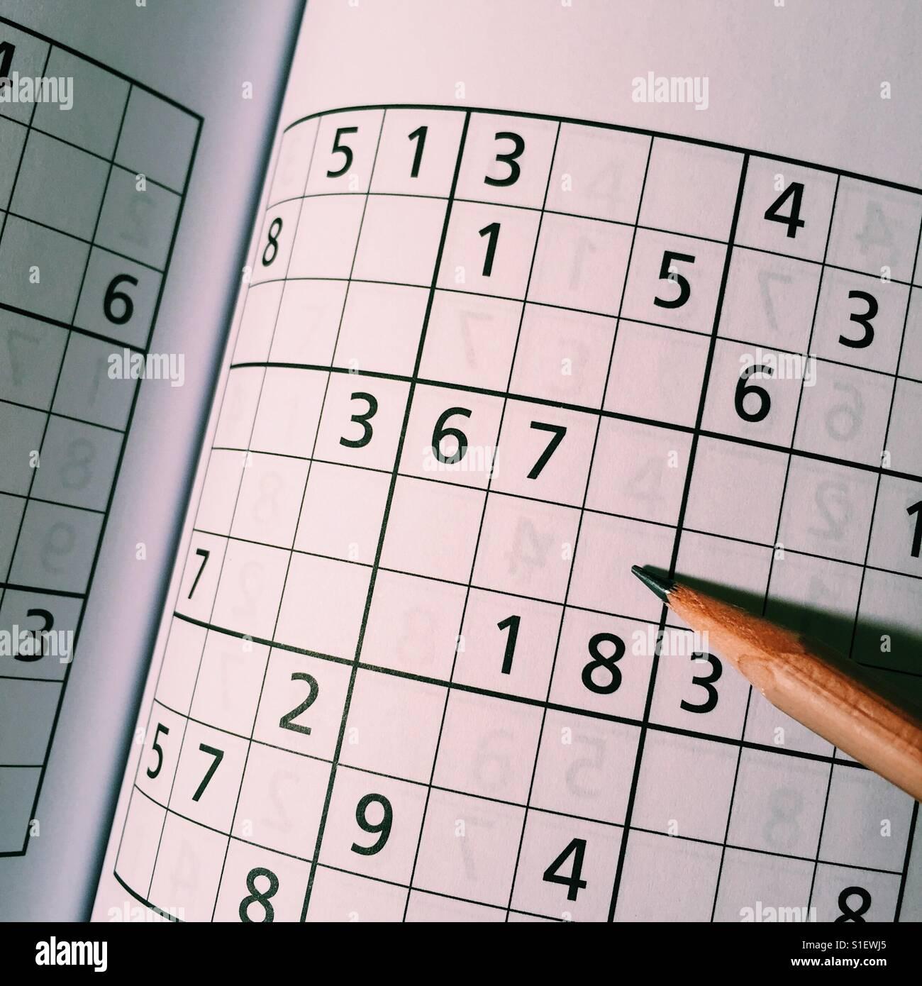Brain Puzzles Book Stock Photos & Brain Puzzles Book Stock Images