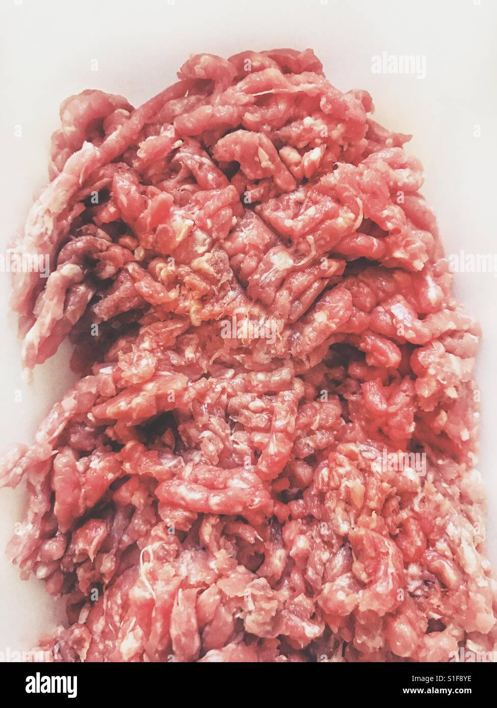 Minced meat - Stock Image