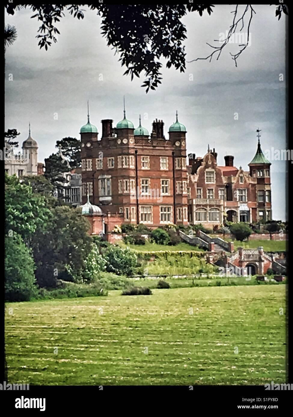 Bawdsey Manor Stock Photo