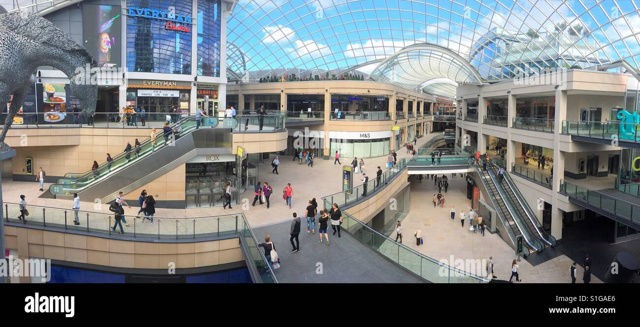 Leeds trinity shopping centre - Stock Image
