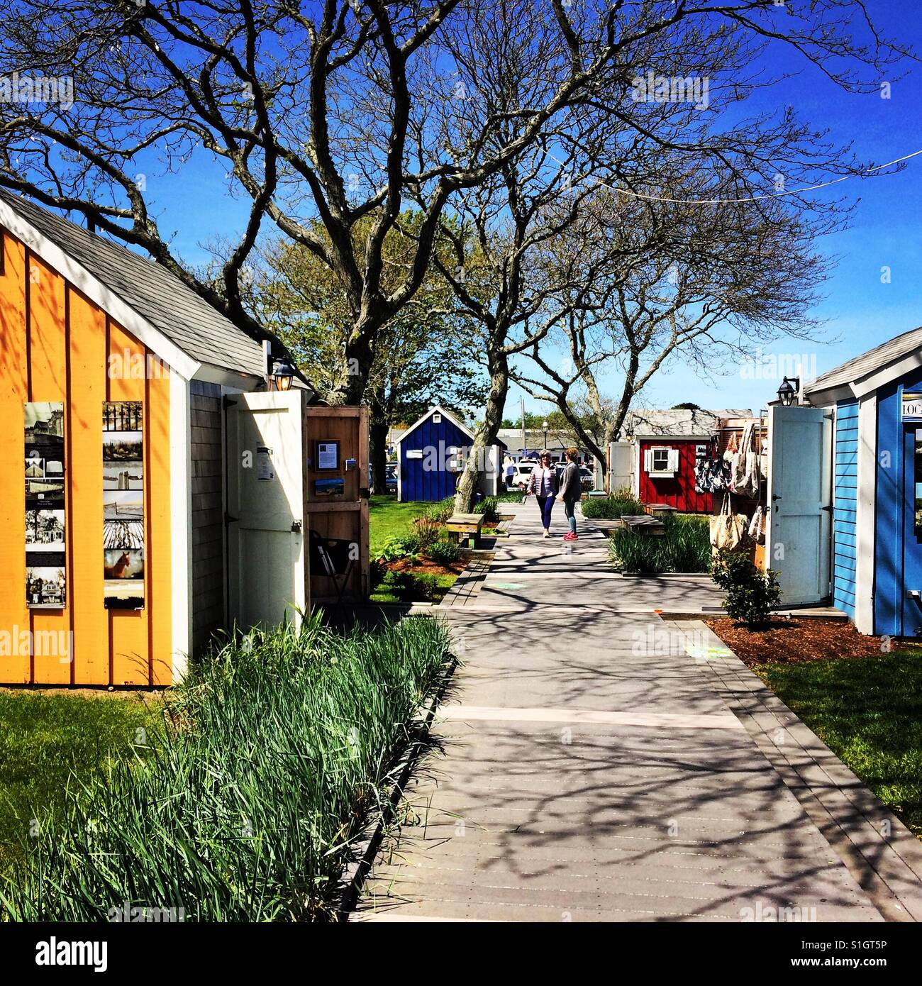 Hyannis Cape Cod Hyannis Massachusetts Stock Photos