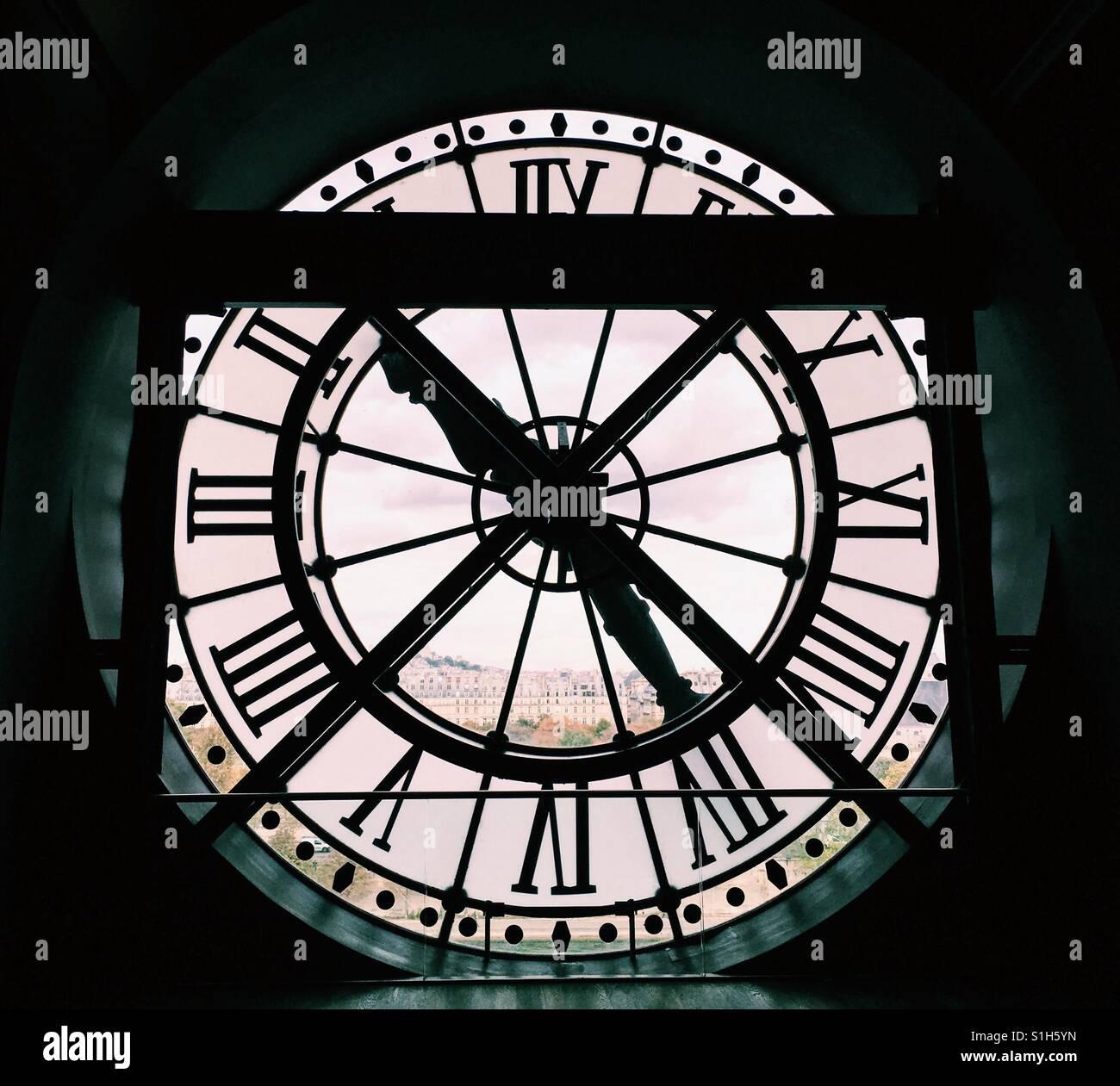Time. Clock. Stock Photo
