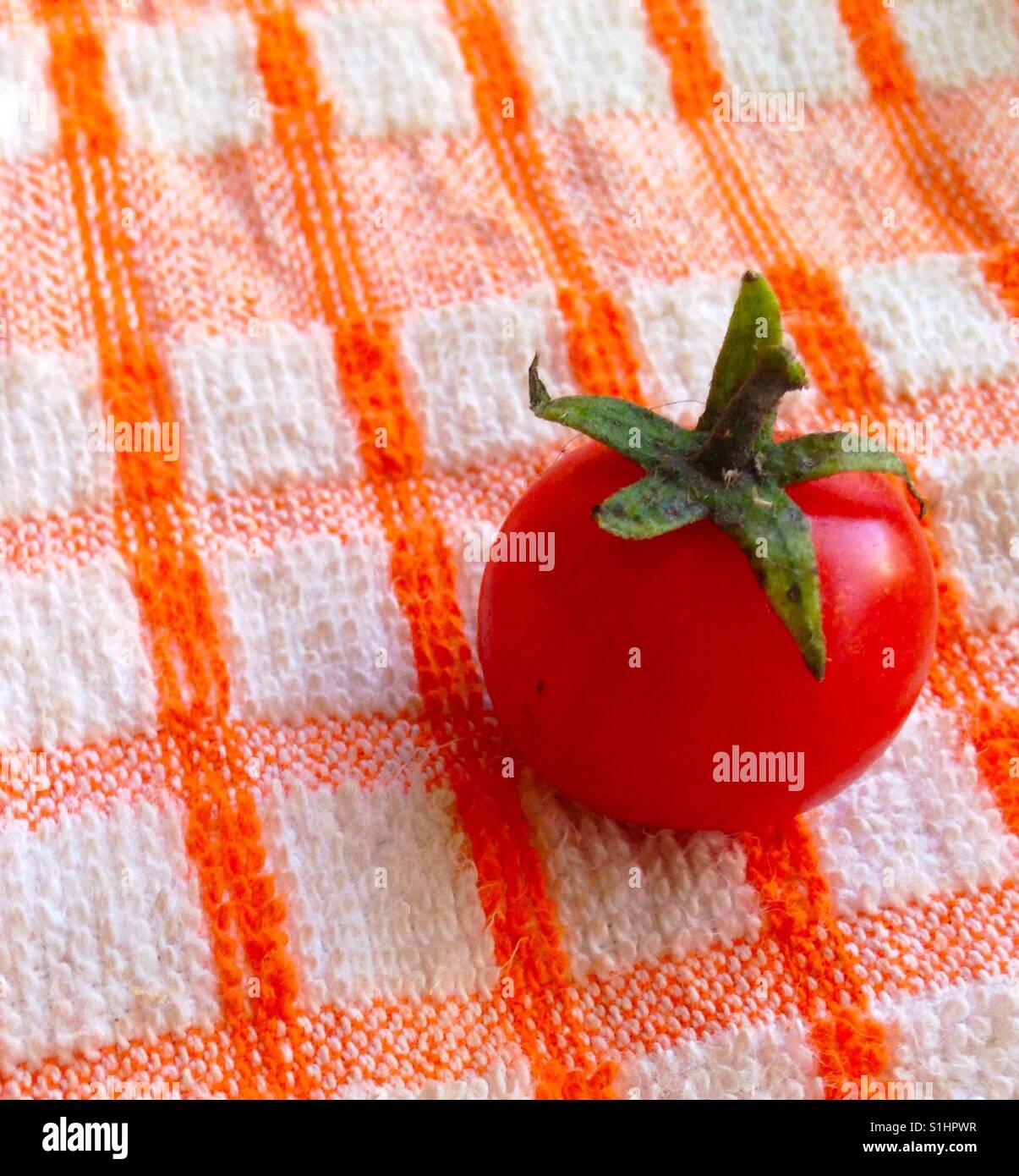 Cherry tomatoe - Stock Image