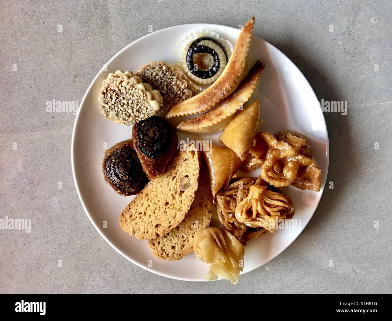 Morroccan desserts - Stock Image