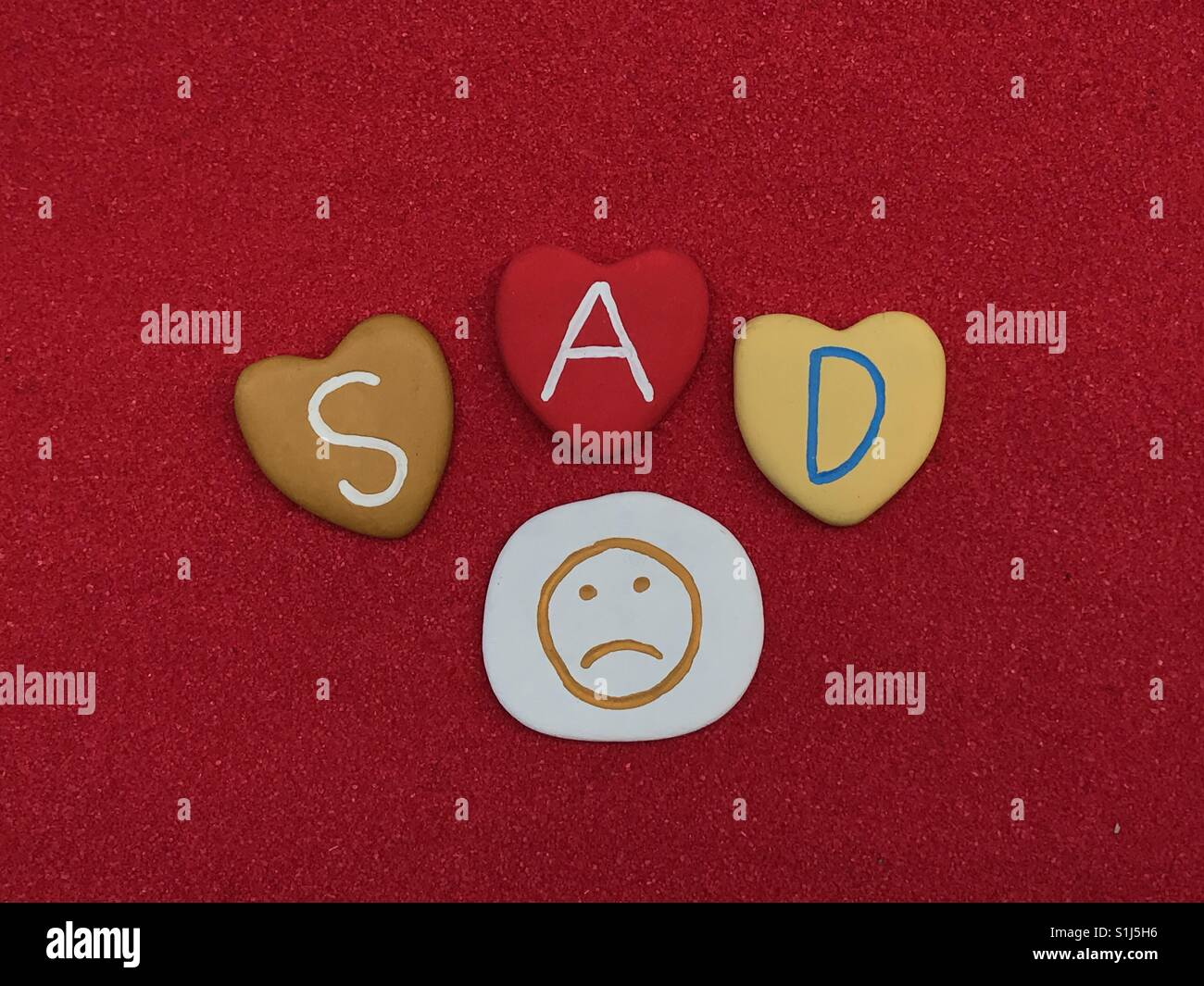 Sad Stock Photo